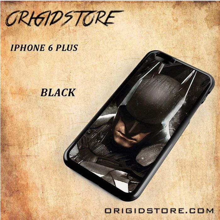 Batman Arkham Knight Mask Black White Snap On Or 3D For Iphone 6 Plus