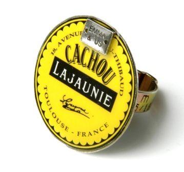 Cachou Lajaunie packaging -> jewelry