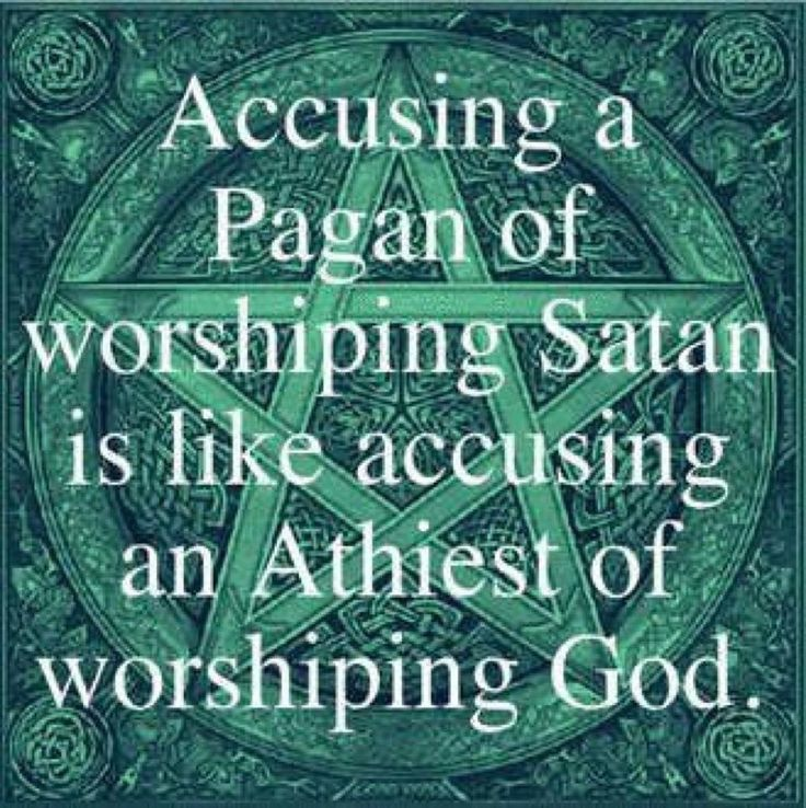 Accusing a Pagan