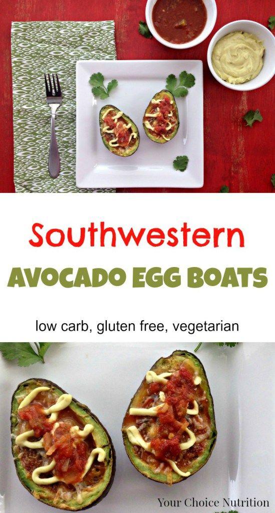 Southwestern Avocado Egg Boats