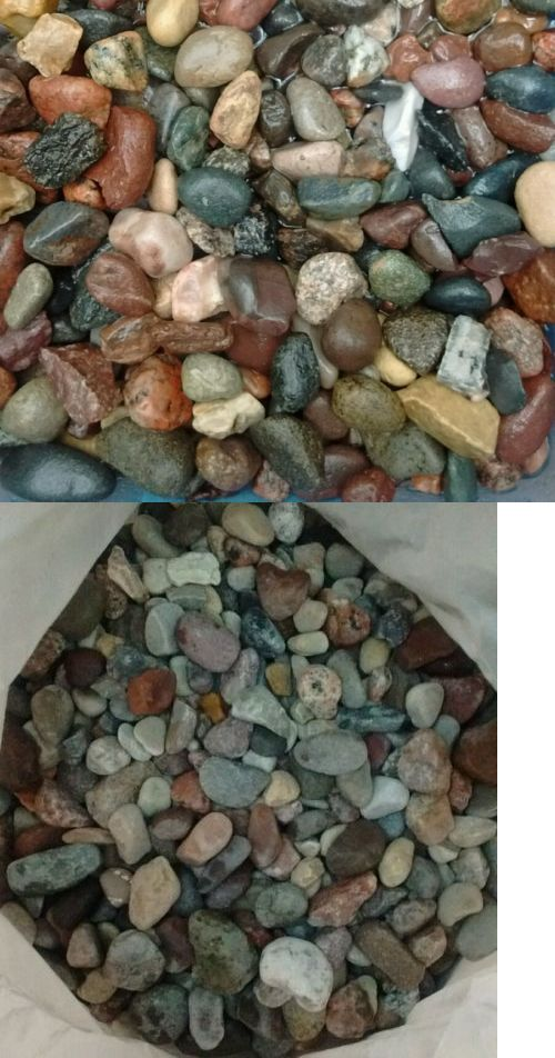 Gravel and Substrate 46439: 45 Lbs Natural Medium Aquarium Fish Tank Gravel, Pebbles And Stones. -> BUY IT NOW ONLY: $47.75 on eBay!
