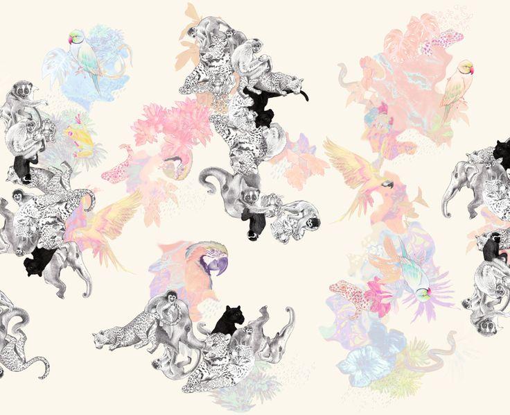 """""""Sademetsän suojassa"""" (detail), Vimma Kids, 2014"""