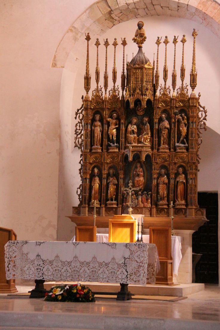 Chiesa di Santa Maria, polittico ligneo