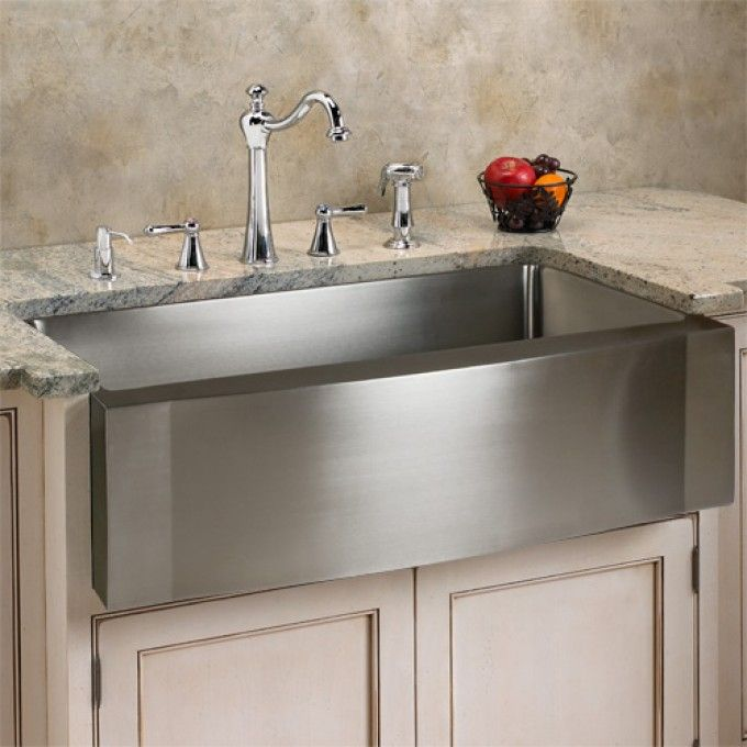25 Best Ideas about Stainless Steel Farmhouse Sink on Pinterest