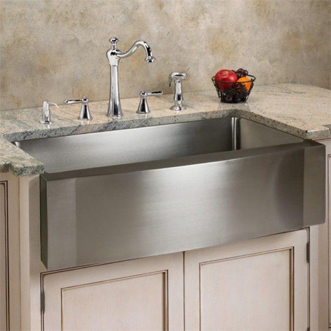 25 Best Ideas about Stainless Steel Farmhouse Sink on Pinterest