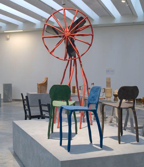 clay furniture - Maarten Baas