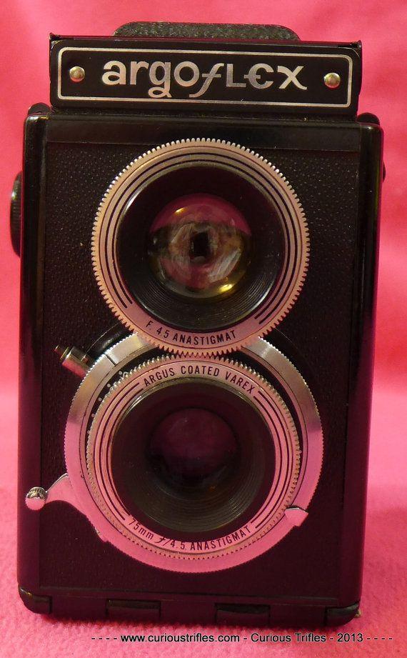 Argus Argoflex Twin Lens Reflex Camera  by curioustrifles on Etsy, $100.00