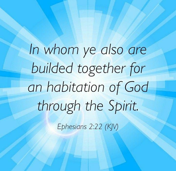 Image result for ephesians 2:22 kjv