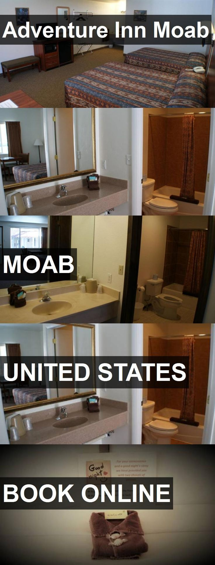 Hotel Adventure Inn Moab in Moab, United States. For more information, photos, reviews and best prices please follow the link. #UnitedStates #Moab #AdventureInnMoab #hotel #travel #vacation