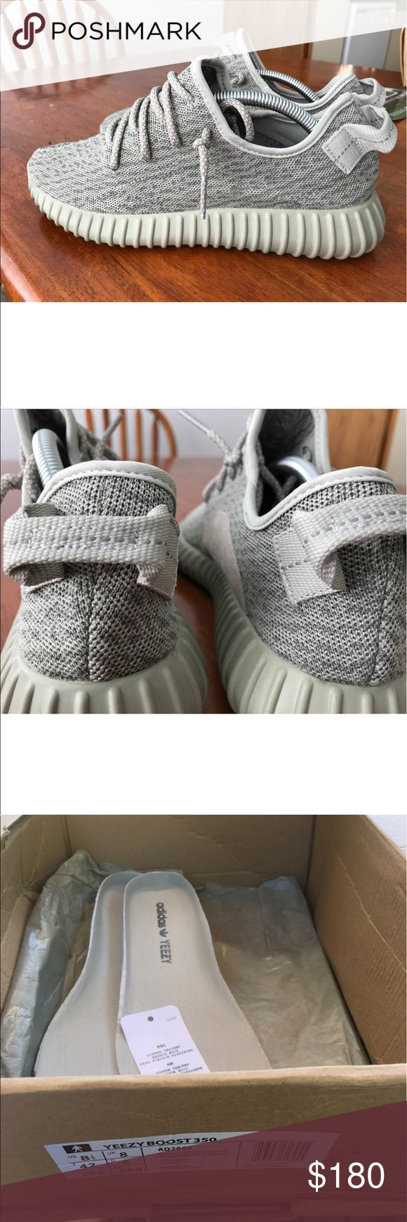 Adidas Yeezy Boot 350 Moonrock- Style A2Q660 Comes with original Box & receipt . Authentic. I soles taken out- never Worn . Shoes worn twice. Yeezy Shoes Athletic Shoes