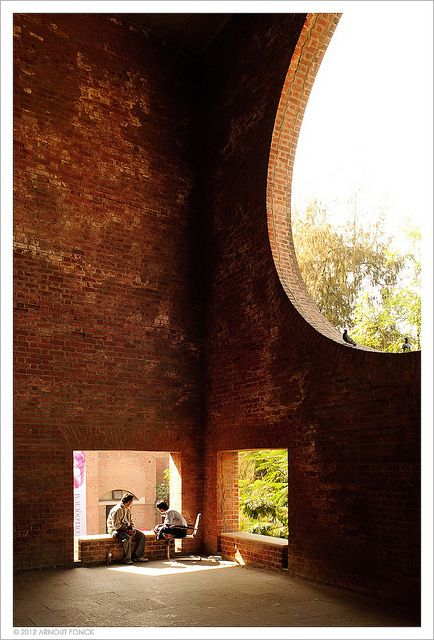 Indian Institute of Management Ahmedabad by Louis I. Khan . Photograoh by Arnout Fonck, via Flickr