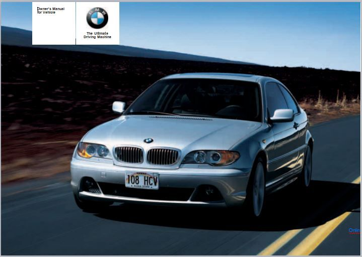 2006 Bmw 325i In 2020 Owners Manuals Bmw Manual