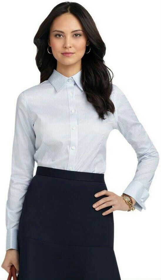 073b13586e7 Pin by Magik Dragon on Buttoned Up Ladies in 2019 | Collared shirt ...