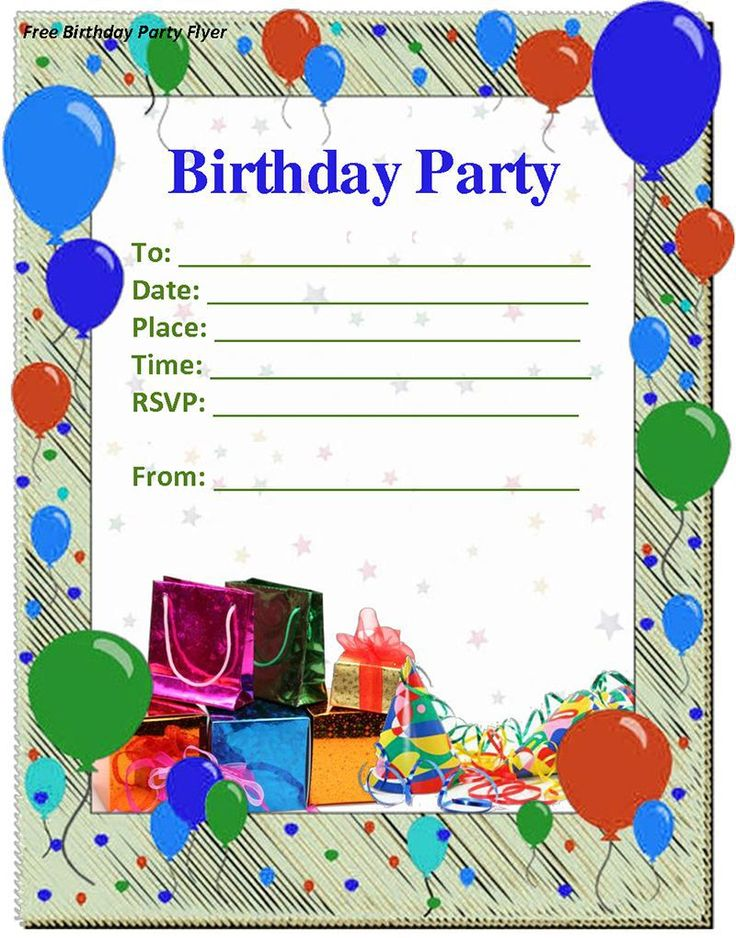 278 best birtday images on pinterest first birthday invitations birthday invitation birthday invitation templates free invitation for you free invitation for you stopboris Images
