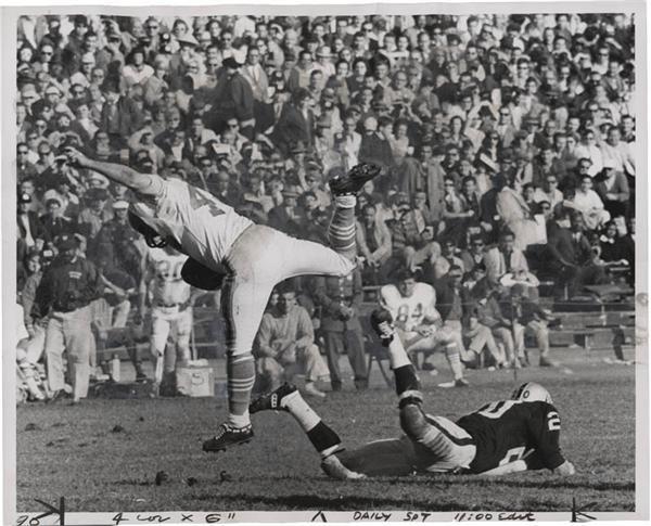 1960 oakland raiders | Lot 579. 1960's Oakland Raiders Wire Photos (4): ~ Football