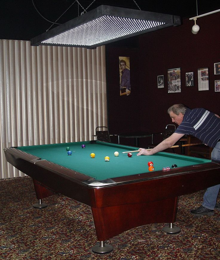 Ideal Pool Table Light