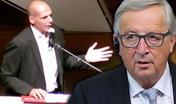 'We're coming for you, Juncker!' New motion vows END to cosy existence of Brussels eliteDiem25, a pro-democracy group which was set up 18 months ago, is now considering putting forward candidates for the European Parliament elections in 2019 to help shape the EU agenda.  This is despite the fact members of the movement, including Mr Varoufakis, have been scathing of the institution which they do not consider to be a proper legislative chamber.  GETTY Former Greek finance minister Yanis…