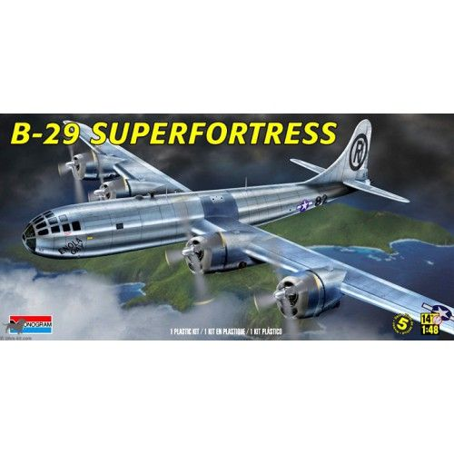 Maquette 1/48 -Boeing B-29 Supefortress - REVELL