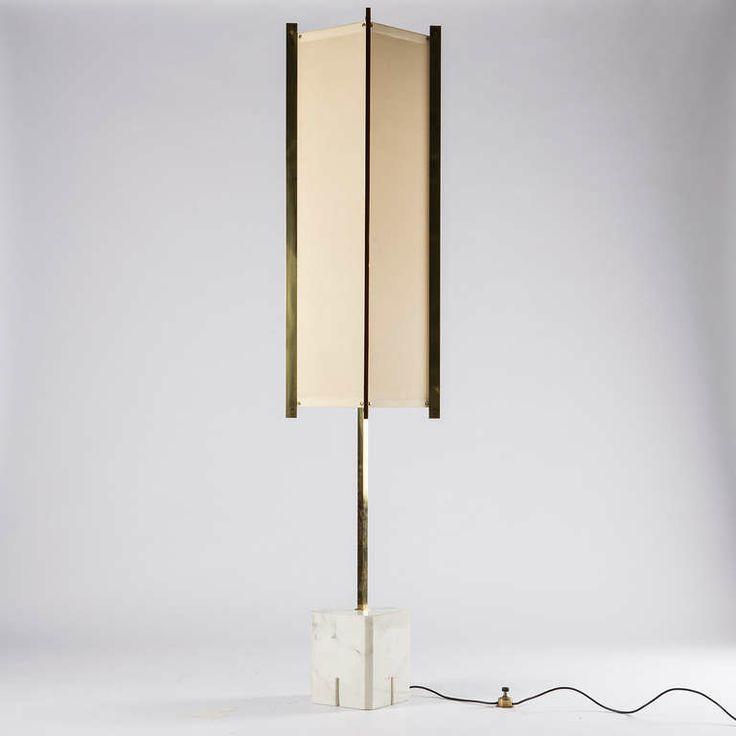 """Prisma"" Floor Lamp by Ignazio Gardella for Azucena"