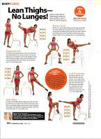 The Project: Compilation of Tracy Anderson Method in Cosmopolitan