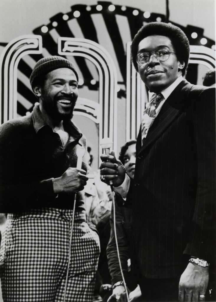 Ain't Nothin' Like the Real Thing, Baby!, Marvin being interviewed by Don Cornelius and the Soul Train Gang during his visit to Soul Train, February 16, 1974