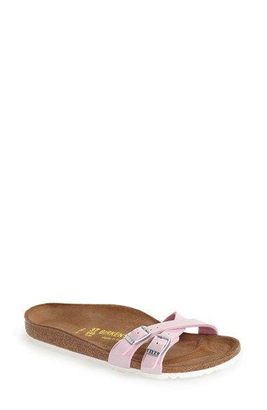 Birkenstock 'Almere' Slide Sandal (Women) available at #Nordstrom