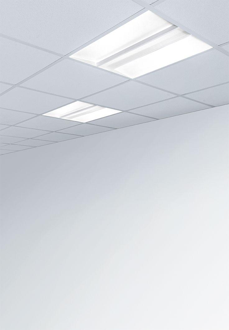 Sofy | Plexiform - Apparecchio LED monoemissione con luce morbida per installazione ad incasso su controsoffitti modulari.