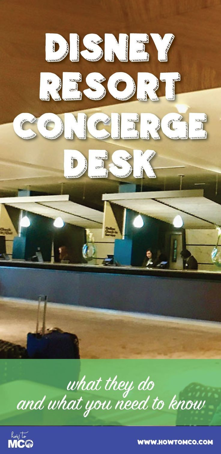 Have you ever walked past the concierge desk at a Disney resort and asked yourself what they could help with to improve your vacation…and just walked by because you didn't know where to start? Find out just how much the front desk at your hotel can help you with.