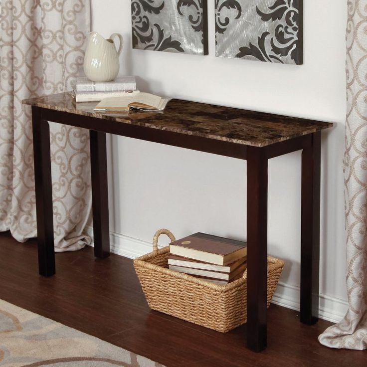 Palazzo Faux Marble Console Table - WSMP06-S