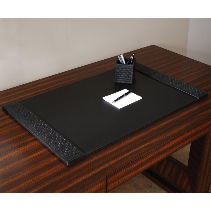 Global Views Woven Desk Blotter - 9.91658