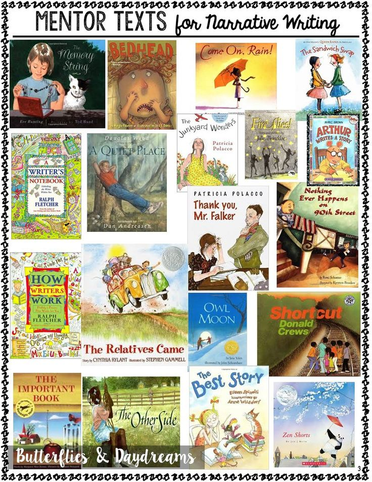 6 Suggestions for Using Mentor Texts in the Classroom