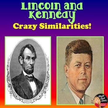 President Lincoln and Kennedy Crazy Similarities Power Point Presentation  This 19-slide Power Point Presentation reviews the crazy similarities between Presidents Abraham Lincoln and John F. Kennedy. Your students will really enjoy this presentation. It includes pictures and funny sound clips. $
