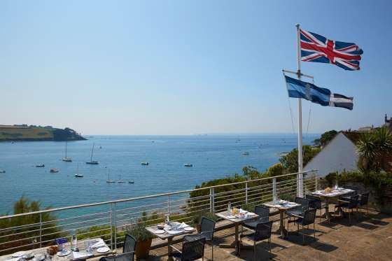 Hotel Tresanton, St Mawes, Cornwall: On the edge of a pretty fishing village, overlooking the sweep ... - The Good Hotel Guide