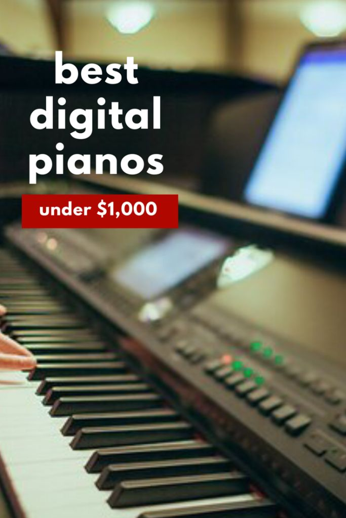 Best digital pianos under 1000 reviewed. Great write up Includes top 3 picks. Yamaha v. Casio v. Kawai.
