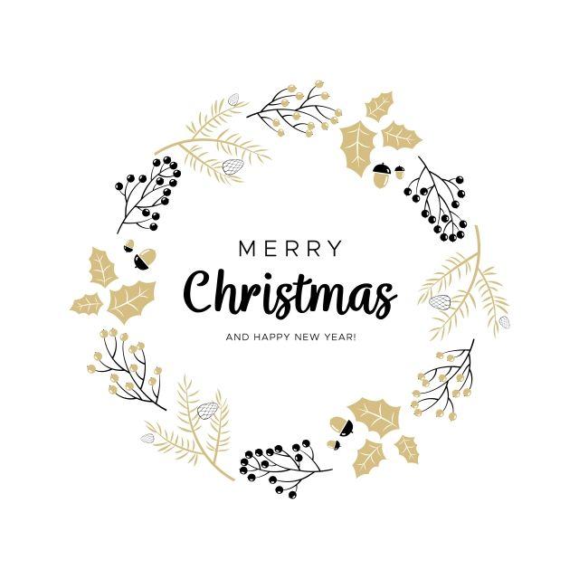 Watercolor Christmas Wreath Christmas Wreaths Merry Christmas Card Christmas Watercolor