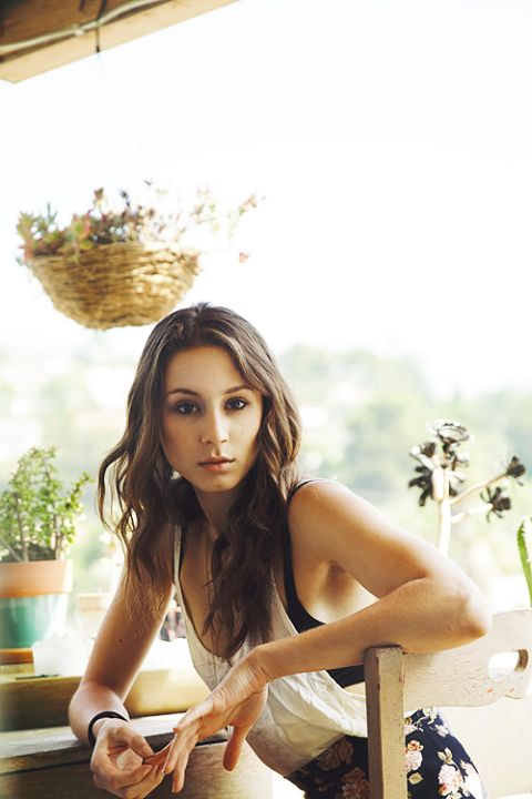 Troian Bellisario. I just adore her. My favorite on Pretty Little Liars. Just love her. Her style, beauty, wits. All of it <3