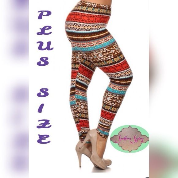 Women's leggings Brand new super soft women's leggings. One size plus size fits 14-20 Pants Leggings