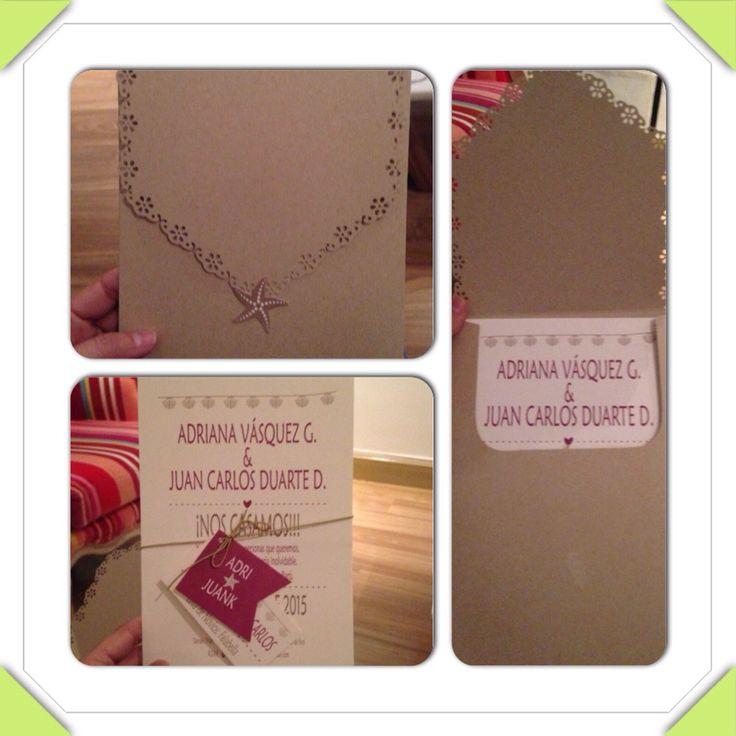 Se hacen tarjetas de matrimonio