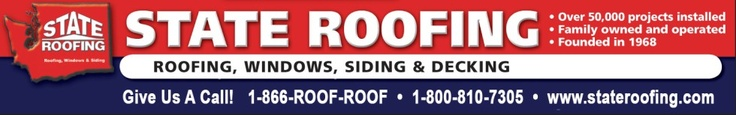 Seattle, Tacoma roofing by State Roofing, since 1968 providing high-quality roof repair and replacement in Bellevue and the Seattle area