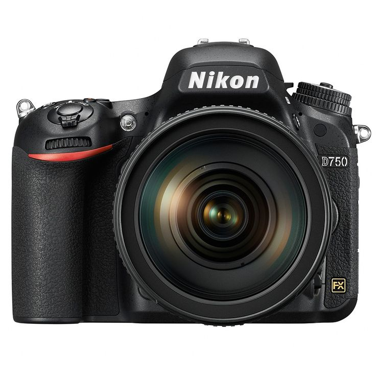 Nikon D750 Digital SLR Camera Body {24 M/P}