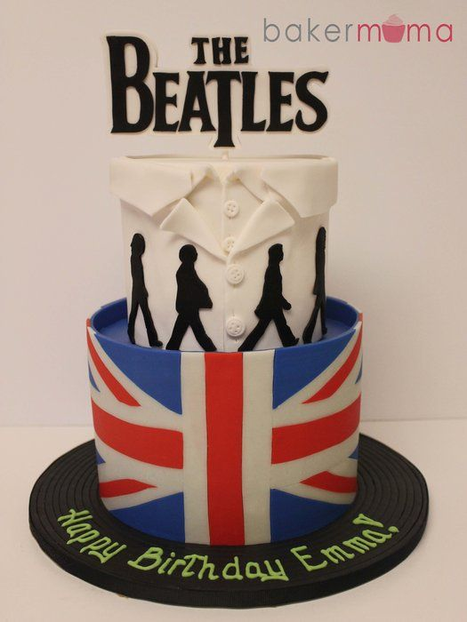The Beatles. I would literally die if my mom bought me this cake for my birthday!!!!