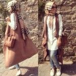Hulya Aslan hijab fashion looks