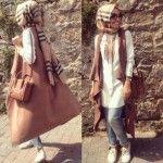 Hulya Aslan hijab fashion looks
