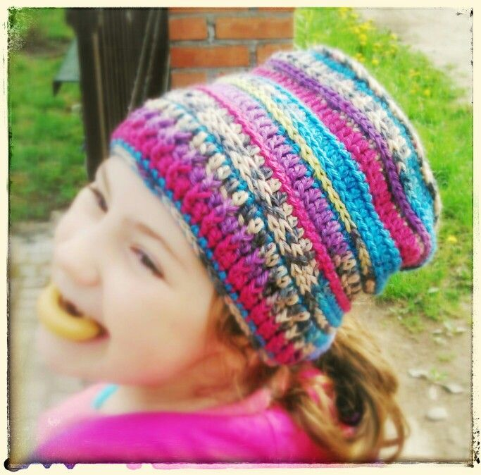 Crotchet hat
