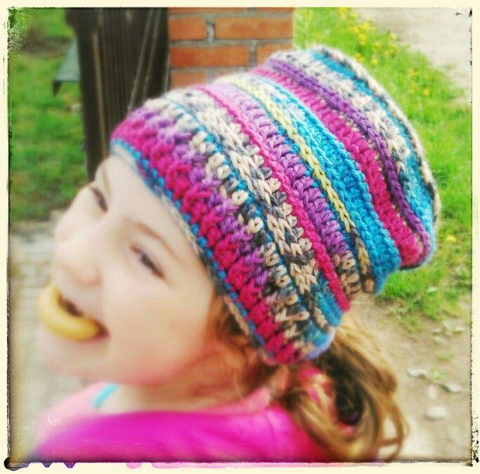 Crotchet hat