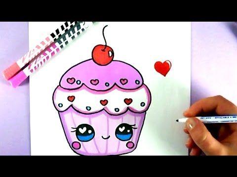 KAWAII LIEBE CUPCAKE SELBER MALEN - YouTube