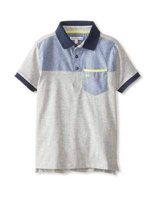 58% OFF French Connection Kid's Polo (Grey Marl)