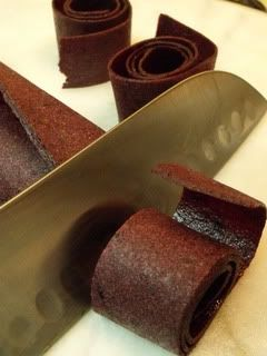 Blueberry Fruit Leather - healthier alternative to fruit roll ups