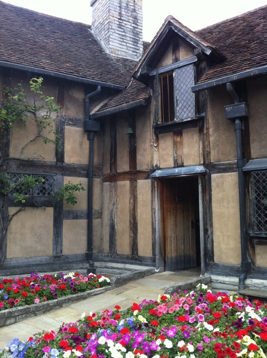 Shakespeare's Birthplace in Stratford-upon-Avon, Warwickshire
