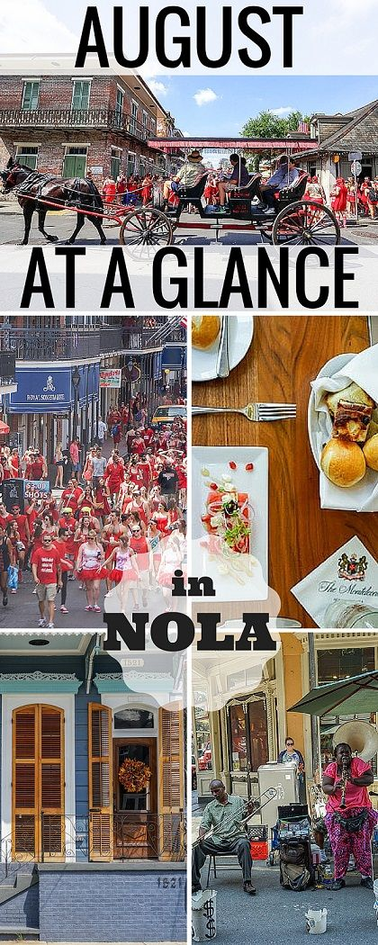 August in New Orleans brings a wide array of summer fun. Check out these fun & festive events worth adding to your trip to New Orleans.